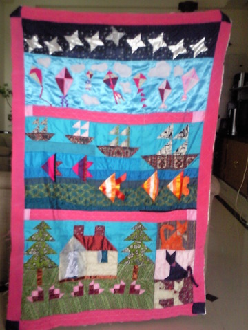 The Counting Baby Quilt