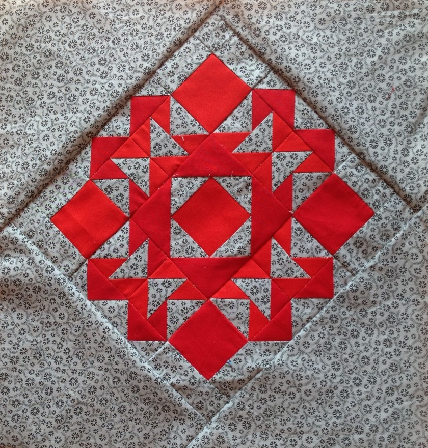 Just takes 2 Quilt Block 29