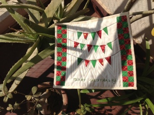 Miniature Christmas Quilt