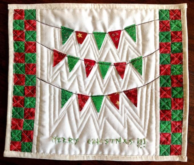 Christmas Quilt for Brinda