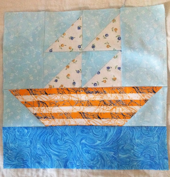 Bee Block - Sail Boat