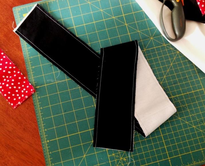 Join strips along both edges