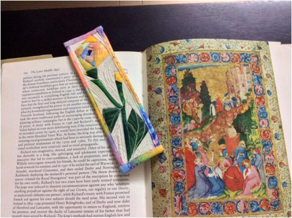 Quilted Bookmark 2.5