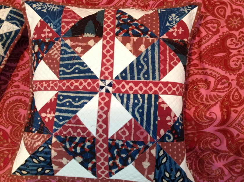 Quilted Cushion Cover