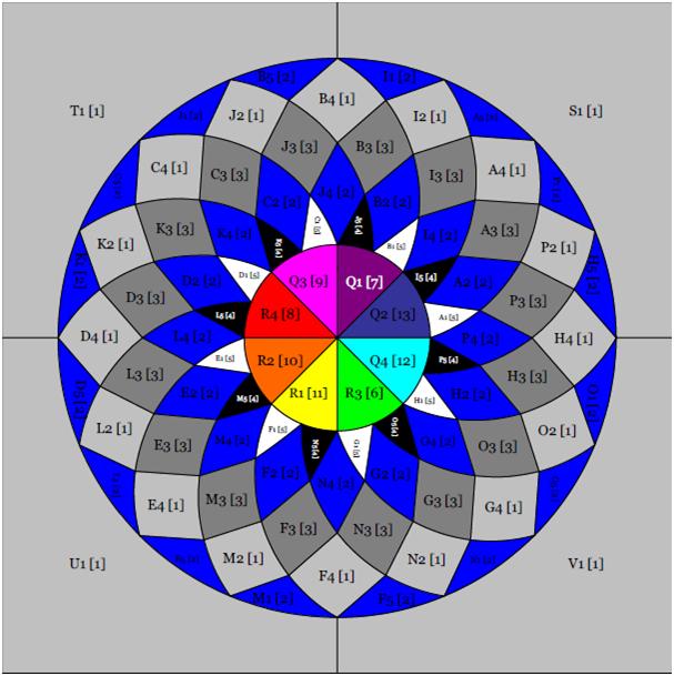 Dahlia Quilt Block Free Pattern Betukbandi