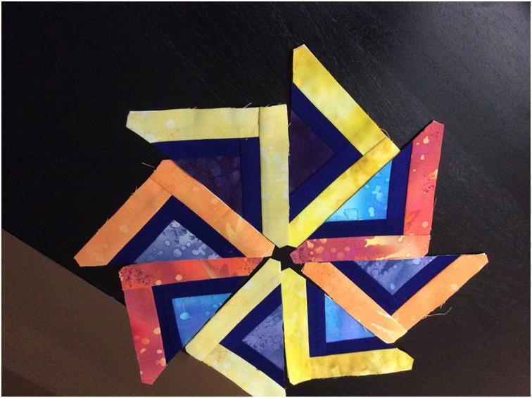 Card Trick Quilt Block Piecing 5