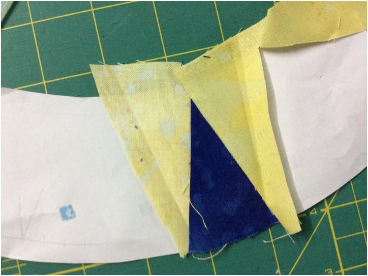 Card Trick Quilt Block Piecing