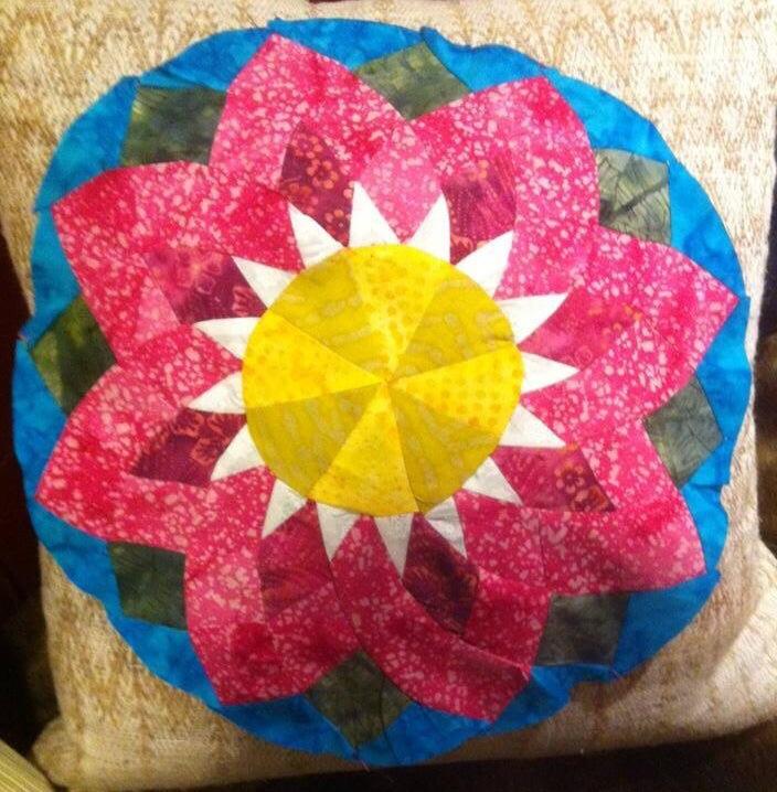 Pink lotus by Jaya Parker