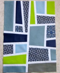 Elizabeth Hartman Mod Mosaic Quilt block