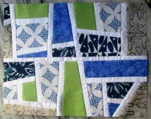 Mod Mosaic Block by Elizabeth Hartman