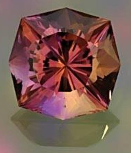 The Ametrine - a gemstone