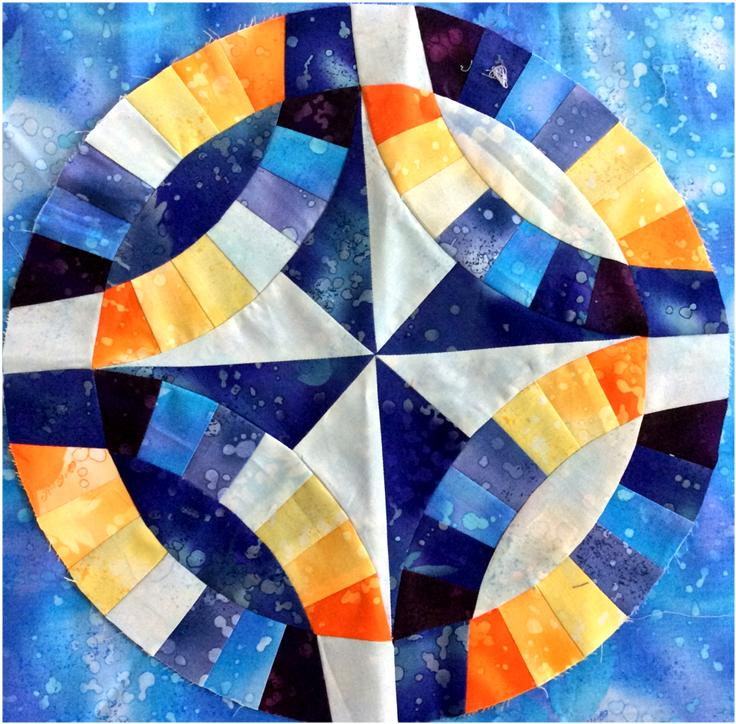 Desi Quilters Celebrate India With Block Ten The Chakra