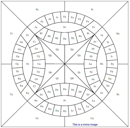 It's just a photo of Free Printable Double Wedding Ring Quilt Pattern inside beginner