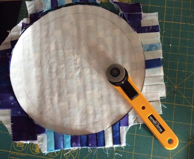 Cutting the circle.