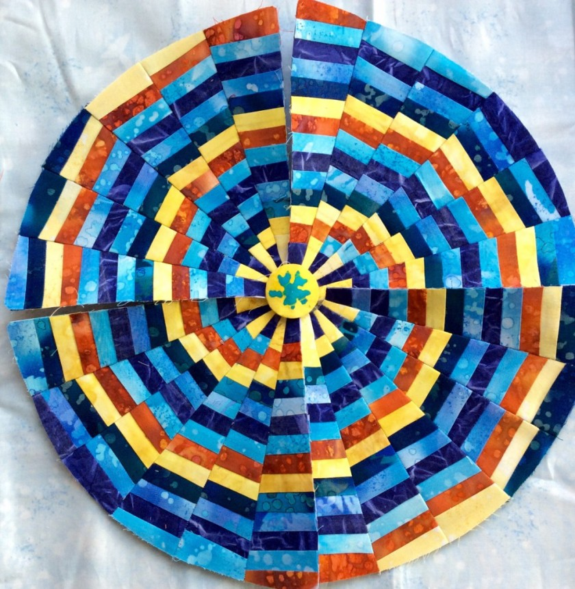 What colour should the centre be?