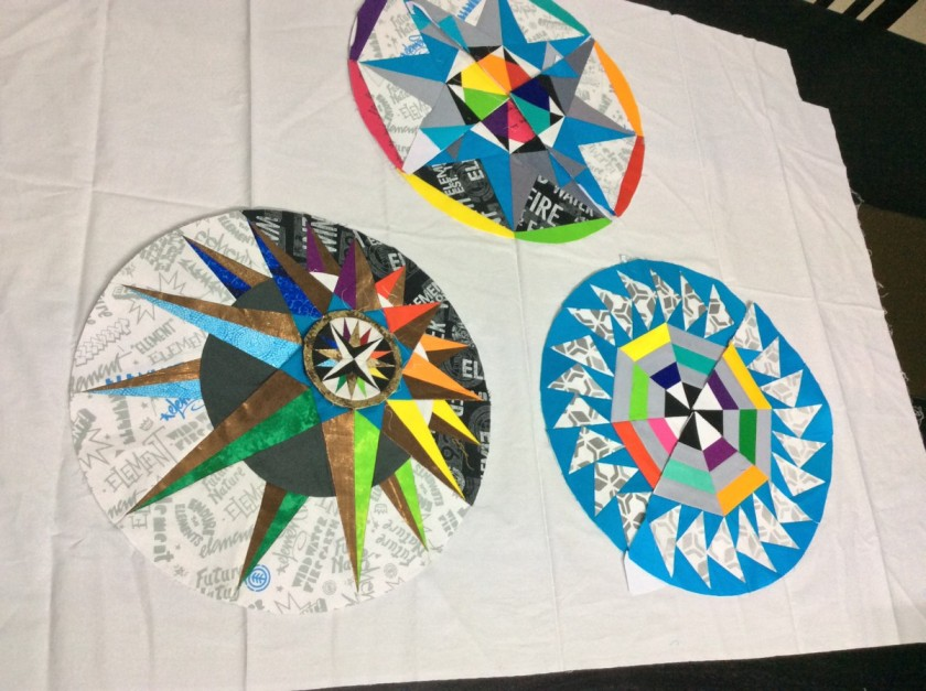 Only three blocks done - the rest will have to wait for next year!