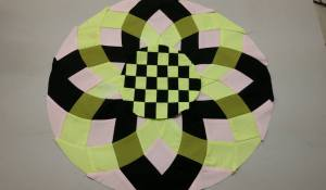 Tina Katwal Dahlia Round the Year Quilt
