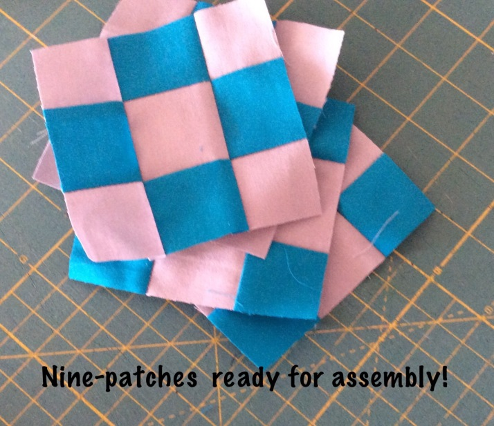 Quick 9 -patch squares