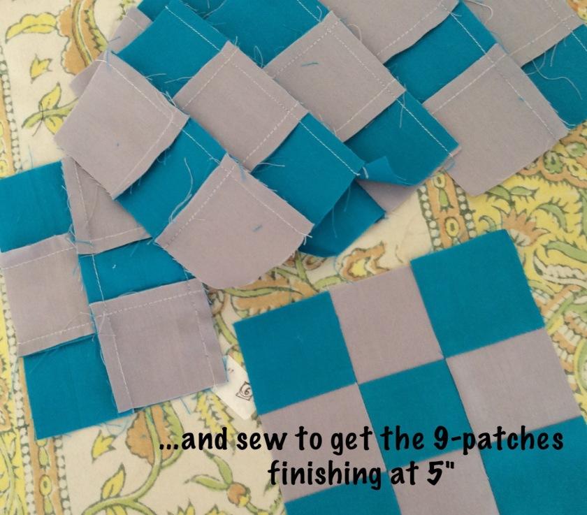 Quick 9-patche squares