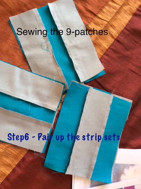 Quick 9 patch squares