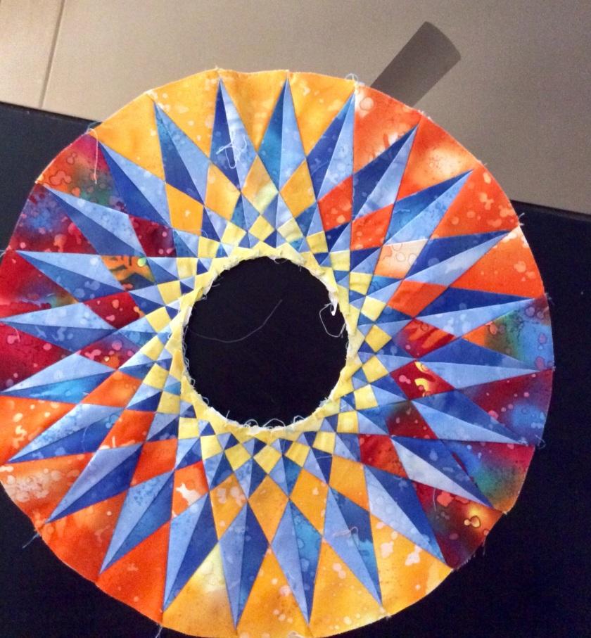 Round the Year Quilt Block 16 Mariner24