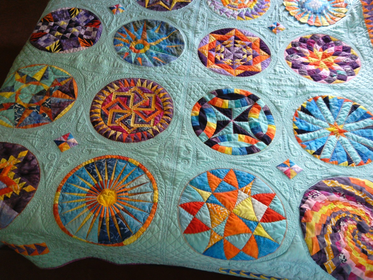 The Round the Year Quilt – First on the Finishing Line!
