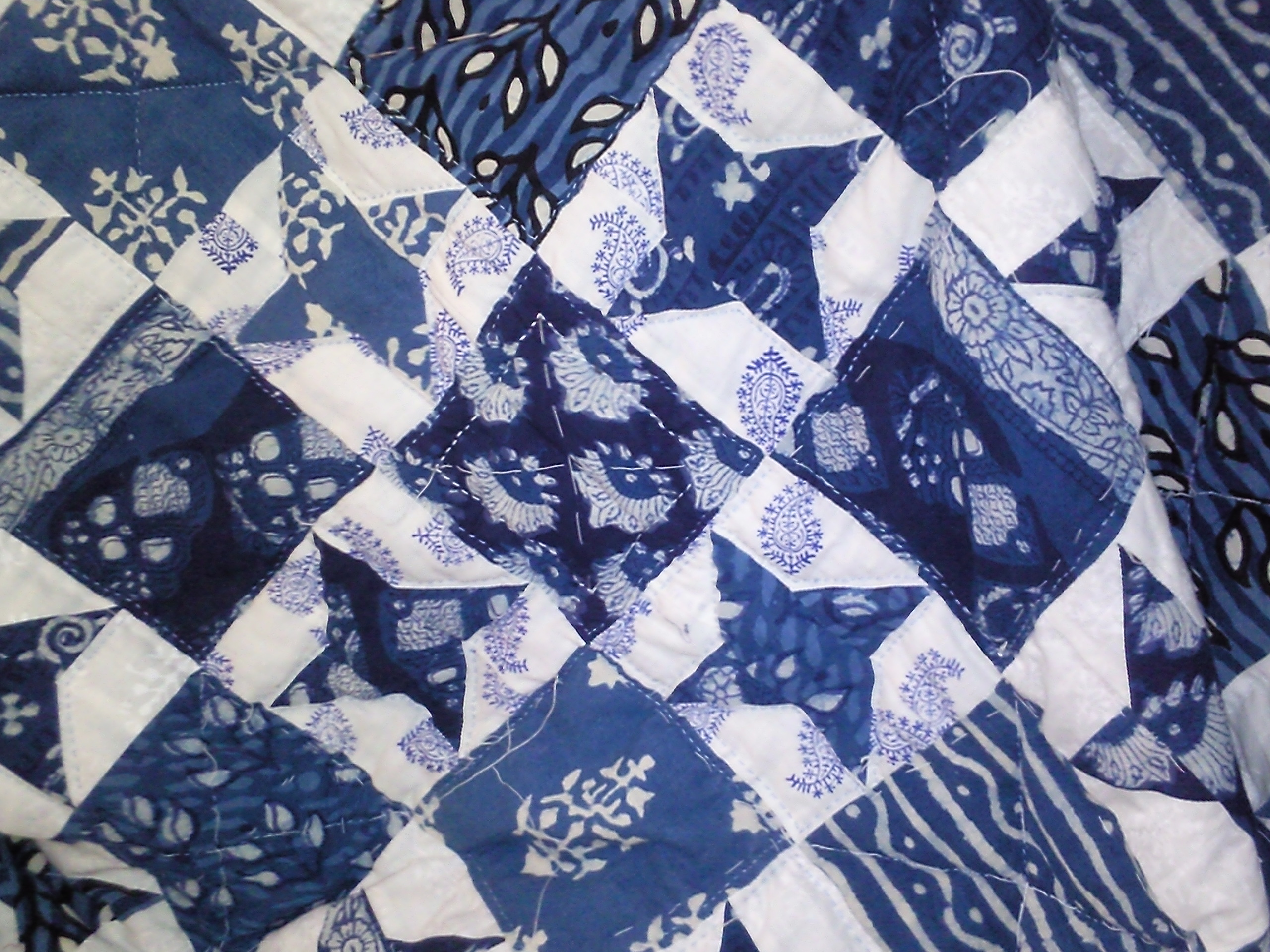 Detail from Tushar's Quilt