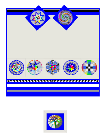 Layout Options for the RainbowDreamcatcher